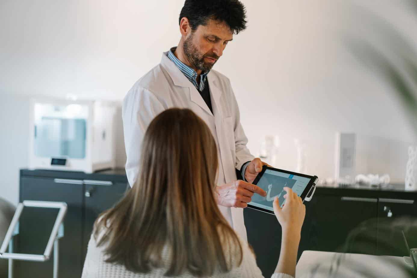gastroenterologist patient diagnostics